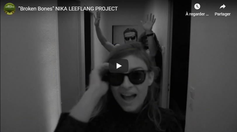 """Découvrez """"Broken Bones"""", le nouveau clip de Nika Leeflang"""