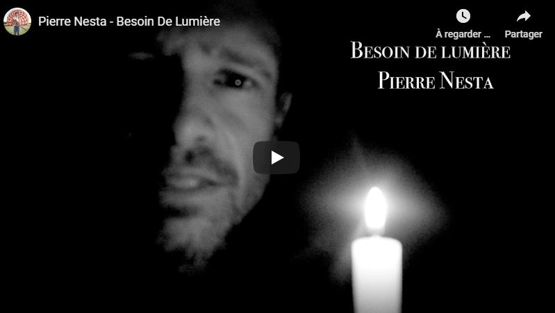 """Découvrez """"Besoin de Lumière"""", le nouveau clip de Pierre Nesta"""