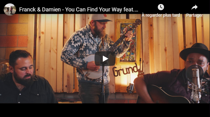 """You can find your way (ft. Matt Grundy)"", la nouvelle vidéo de Franck & Damien"