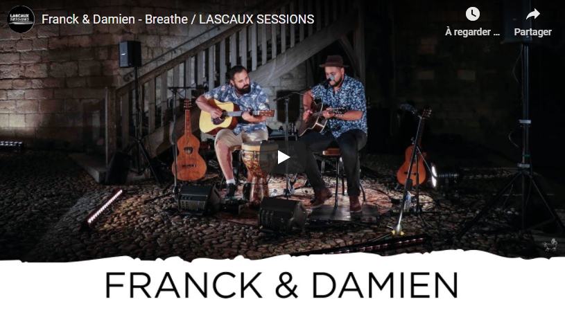 Franck & Damien dévoilent des extraits des Lascaux Sessions